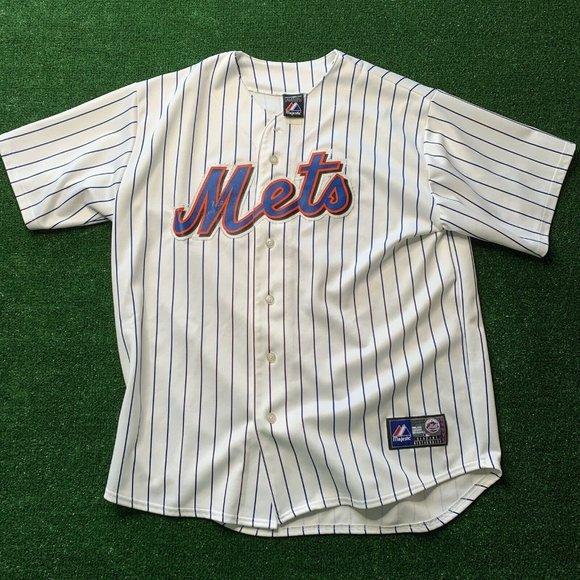 New York Mets Jose Reyes Jersey Size 2XL Majestic